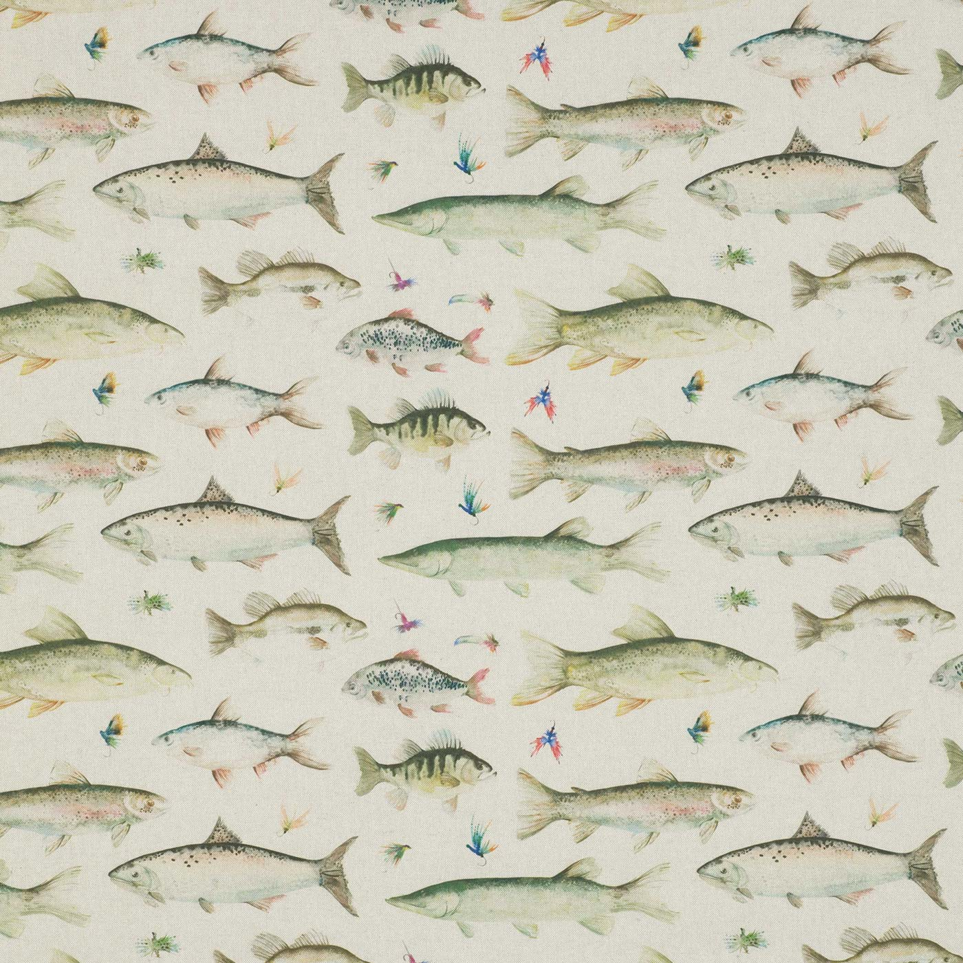 River Fish Large Linen